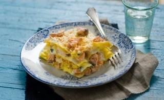 Lasagne al salmone con besciamella