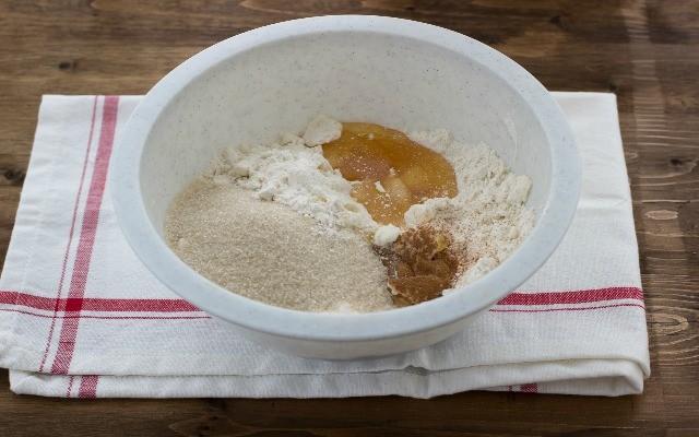 Step 1 biscotti al miele