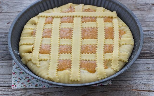 Step 3 crostata di cachi