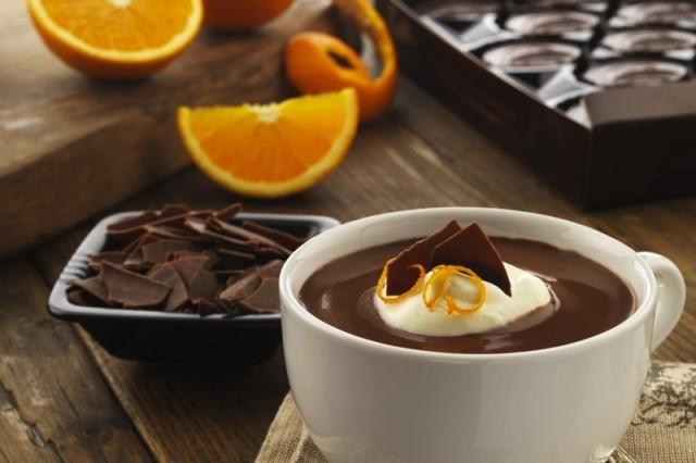 cioccolata con arancia