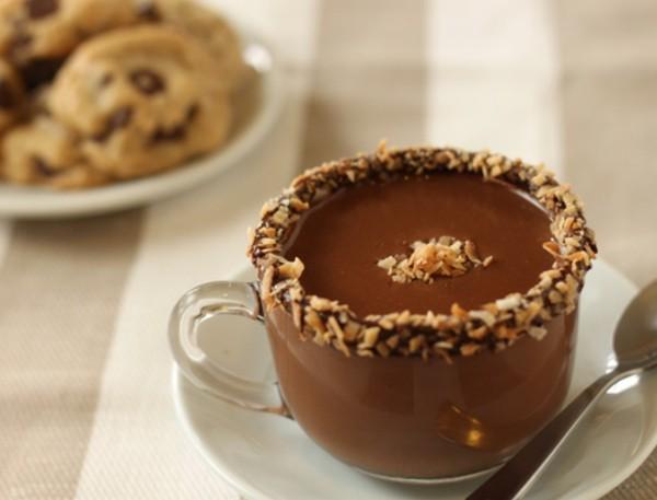 cioccolata con nocciole