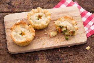 Mini fish pie con stoccafisso