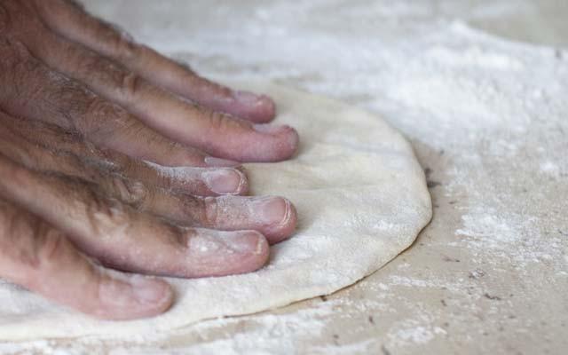 Strudel di pizza foto3