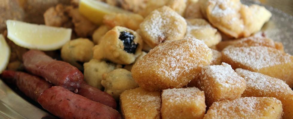 Pioggia di calorie: i fritti delle feste