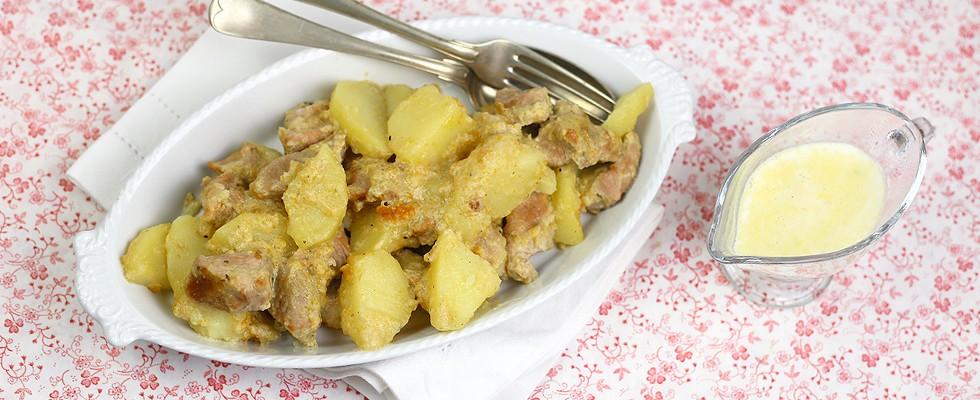 Bocconcini di vitello con patate