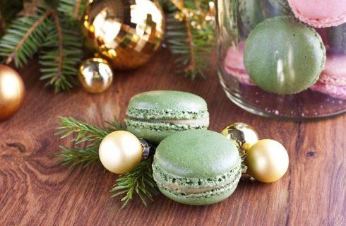 I macarons per Natale nel Calendario dell'Avvento
