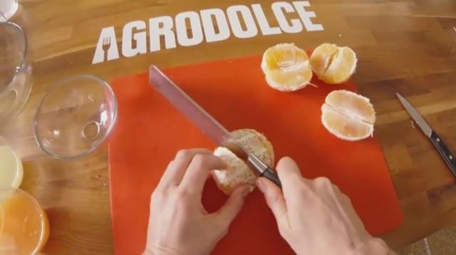 marmellata di arance 4 tagliate a pezzi le arance