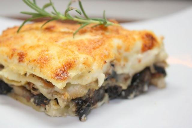 lasagna ai funghi