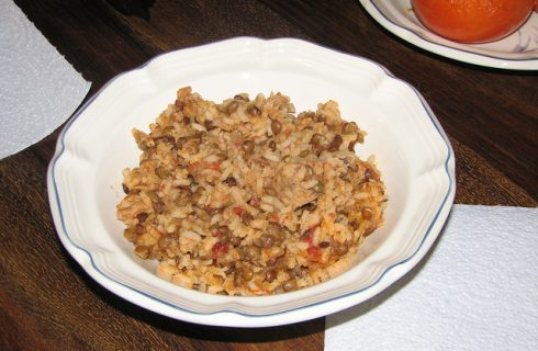 Il risotto alle lenticchie da fare con il Bimby per la tavola di Capodanno
