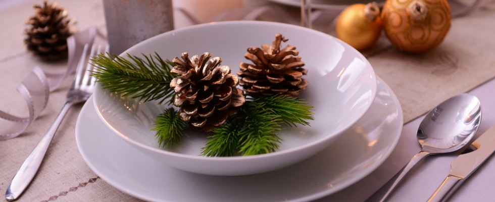5 idee per decorare la tavola di Capodanno