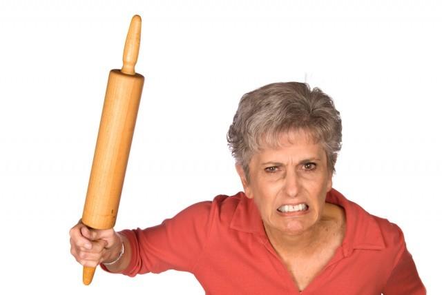 nonna arrabbiata