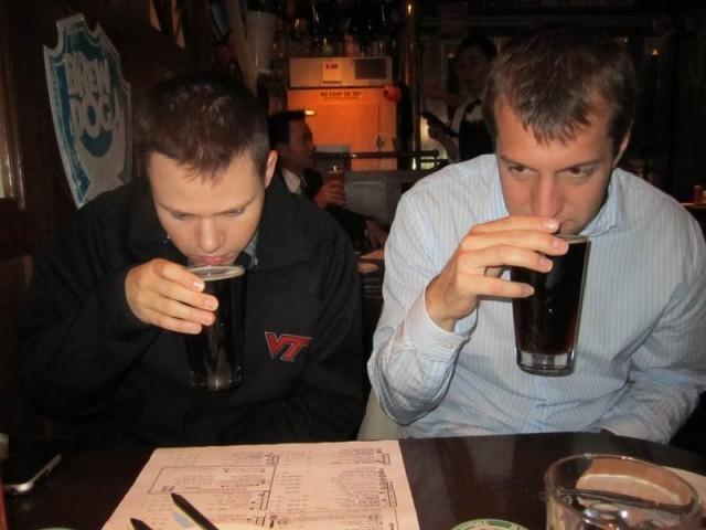 annusare la birra