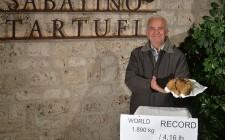 Trovato il tartufo più grande del mondo