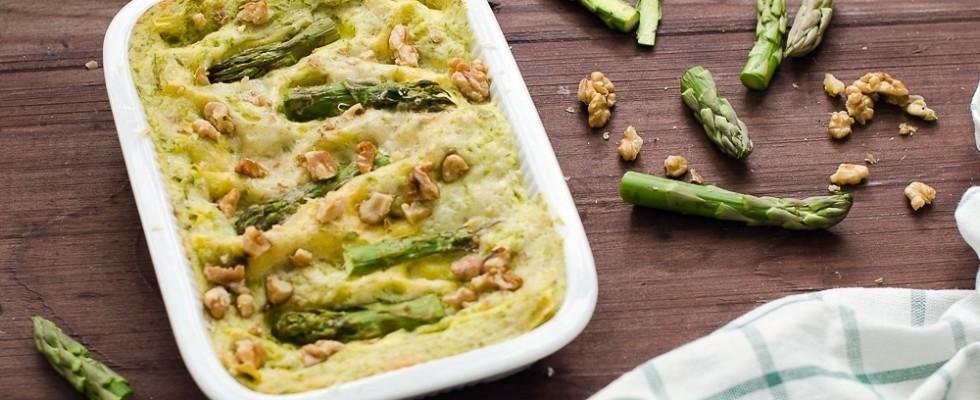 Lasagne agli asparagi e besciamella