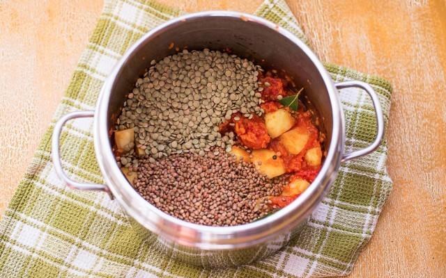 Minestra di lenticchie step-3