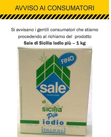 Ritirato sale dal supermercato: scelta responsabile di Italkali - Foto 4