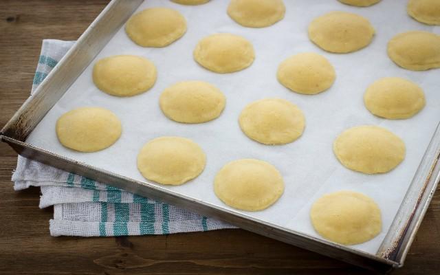Step 4 biscotti al limone