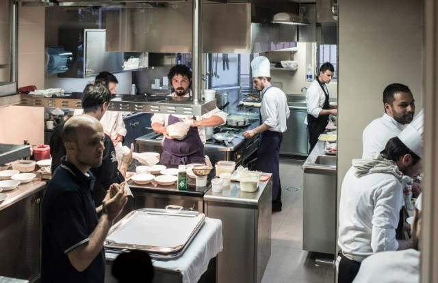 La cucina di Parini durante Spessore