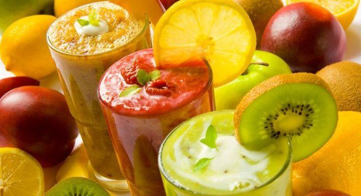 I centrifugati in 5 ricette con la frutta