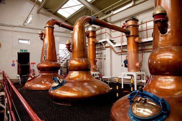 distillare whisky