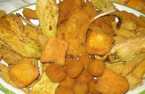 Fritto misto all'ascolana: celebrare il cibo