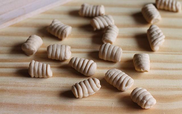 gnocchi di castagne step5