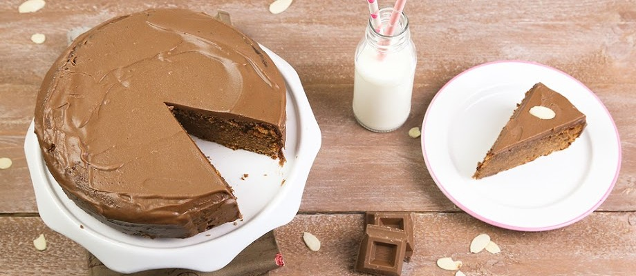 Torta al cioccolato al latte senza glutine