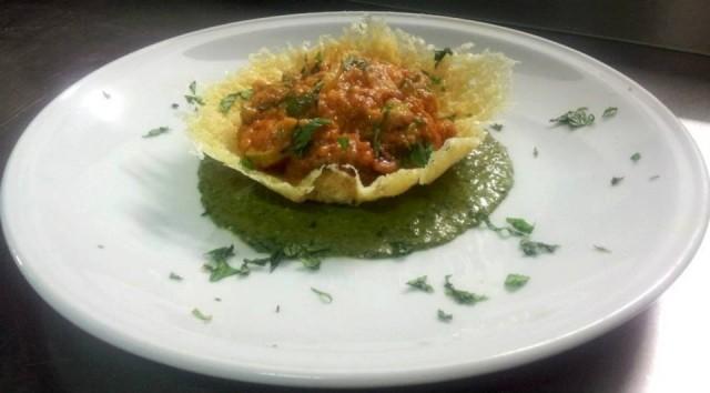 Parmigiana di zucchine con pesto di menta - Arancia Blu