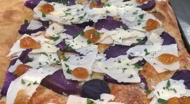 pommidoro patate viola provolone e birra da mangiare