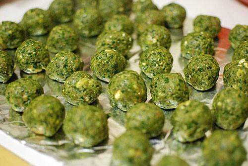 polpettine verdi