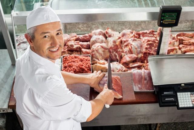 Carne macellaio