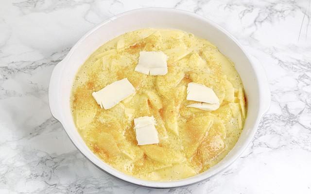 torta mele e yogurt step5