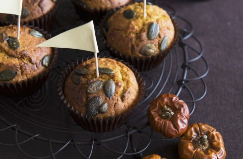 Muffin dolci alla zucca