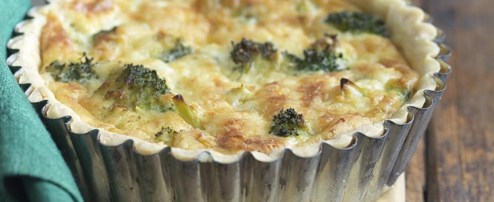 Ricetta torta salata con i broccoli