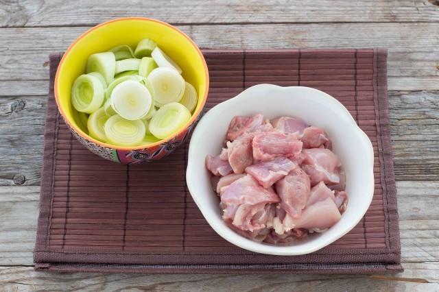 pollo al sesamo Step 2