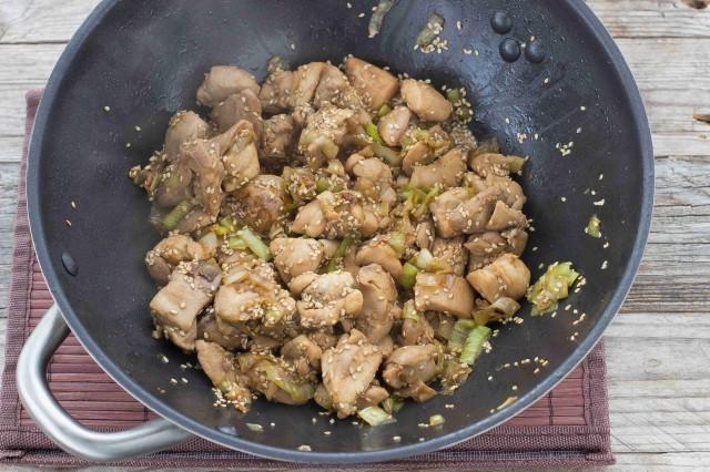 pollo al sesamo Step 3