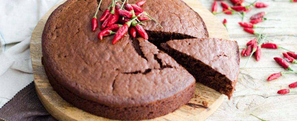 Torta cioccolato e peperoncino