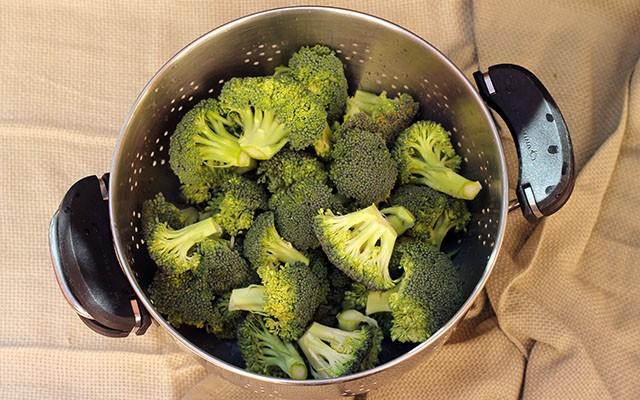 broccoli affogati step 1