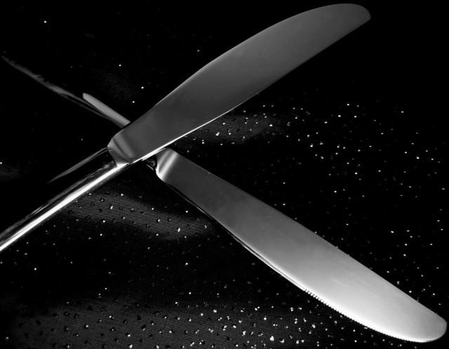 coltelli incrociati