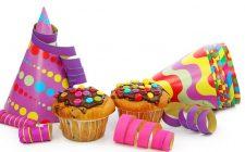 I cupcake di Carnevale colorati e deliziosi