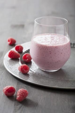 Frullato di frutta e latte