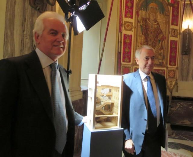 Gilberto Benetton e Giuliano Pisapia