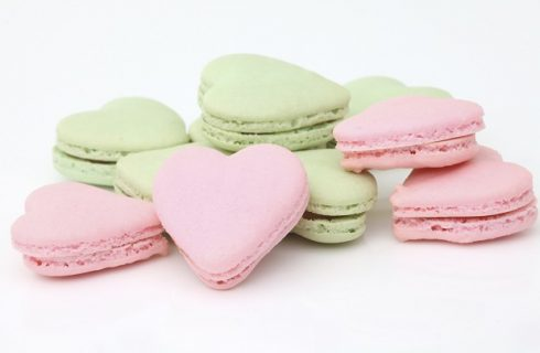 La ricetta dei macarons per San Valentino