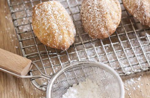 Le madeleines da provare con la ricetta per il Bimby