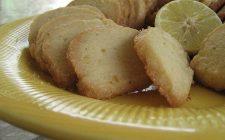 I biscotti al limone e cannella perfetti per il te