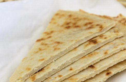 La ricetta della piadina integrale senza lievito