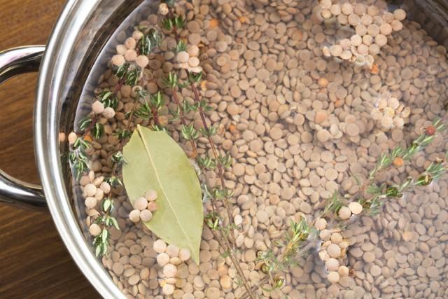lenticchie in cottura