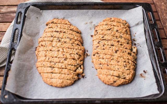 Biscotti con gocce di cioccolato step-4