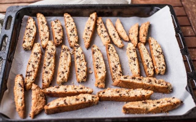 Biscotti con gocce di cioccolato step-5
