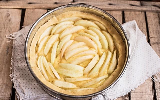 torta di mele con crema  (6)
